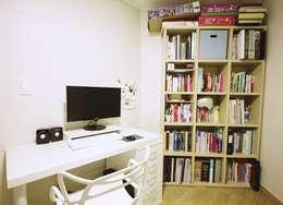 homelatte: modern tarz Çalışma Odası