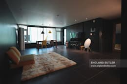 분당 K House (Bundang K House): 잉글랜드버틀러의  거실