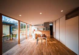 moderne Wohnzimmer von STaD(株式会社鈴木貴博建築設計事務所)