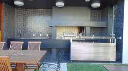 Baños de estilo moderno por Jader e Ivan Arquitetos