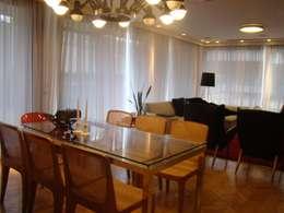 Comedores de estilo moderno por Jader e Ivan Arquitetos
