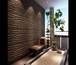 Paisajismo de interiores de estilo  por ENFOQUE CONSTRUCTIVO