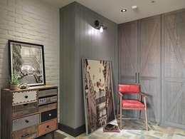 [HOME] Taoxi Interior Design: KD Panels의  침실