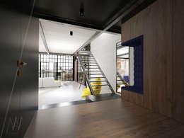 Corridor & hallway by AAW studio