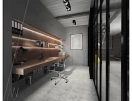 industrial Study/office by AAW studio
