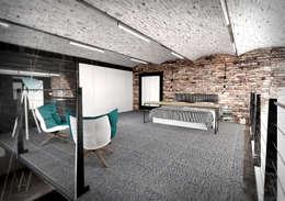 industrial Bedroom by AAW studio