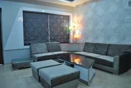 modern Living room by Arturo Interiors