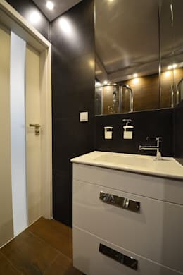 Łazienka: styl , w kategorii Łazienka zaprojektowany przez Niuans