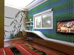 غرفة الاطفال تنفيذ canatelli arquitetura e design
