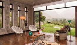 Projekty,  Salon zaprojektowane przez Marina Vella Arquitectura