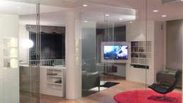 minimalistic Living room by Daifuku Designs