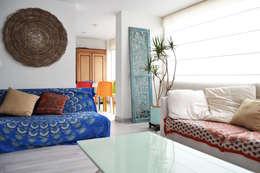 eclectic Living room by santiago dussan architecture & Interior design