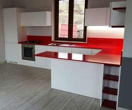 modern Kitchen by Vibo Cucine sas di Olivero Bruno e c.