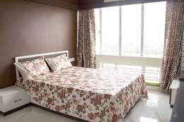 4 BHK in Bengaluru: modern Bedroom by Cee Bee Design Studio