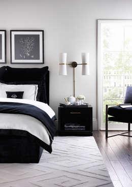modern Bedroom تنفيذ LuxDeco