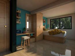 غرفة نوم تنفيذ Arqternativa