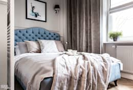 Camera da letto in stile in stile Eclettico di SAS