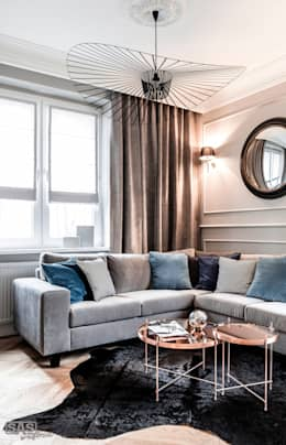 eclectic Living room by SAS