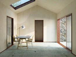 Maison IM: Bureau de style de style Minimaliste par Belle Ville Atelier d'Architecture