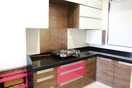 Prabhadevi : minimalistic Kitchen by Elevate Lifestyles