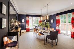 modern Dining room by Emma Hooton Ltd
