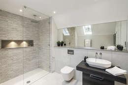 Projekty,  Łazienka zaprojektowane przez Emma Hooton Ltd