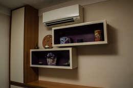 غرفة نوم تنفيذ Inspirate Arquitetura e Interiores