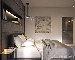 moderne Slaapkamer door LK&Projekt GmbH