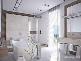 modern Bathroom by LK&Projekt GmbH