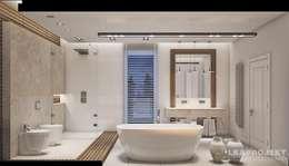 Baños de estilo moderno por LK&Projekt GmbH