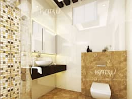 BATHROOM DESIGNS: modern Bathroom by KARU AN ARTIST