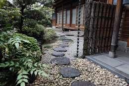 Projekty,  Ogród zaprojektowane przez 杉田造園 株式会社