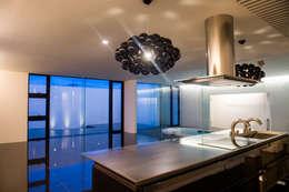 Projekty,  Kuchnia zaprojektowane przez 門一級建築士事務所
