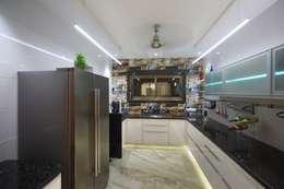 Samrath Paradise: modern Kitchen by IMAGE N SHAPE