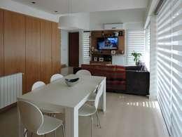 Casa Pueyrredon: Comedores de estilo moderno por Pablo Langellotti Arquitectura