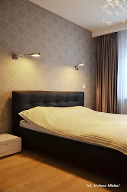 غرفة نوم تنفيذ Modify- Architektura Wnętrz
