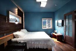 modern Bedroom by 꿈꾸는목수