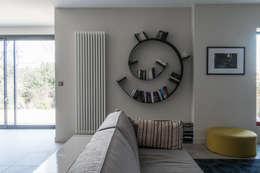 Maison à Limoges 2016: Salon de style de style Moderne par Jean-Paul Magy architecte d'intérieur