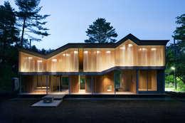 片流れの住宅 / SHED ROOF HOUSE: 富永大毅建築都市計画事務所が手掛けた家です。