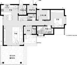 질리지 않는 개성이 있는 집. 양평 문호리 주택