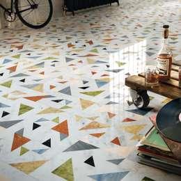 allegro: Pareti & Pavimenti in stile in stile Moderno di LITHOS DESIGN