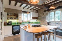 Sheffield Sustainable Kitchens: modern tarz Mutfak