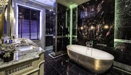Restored Georgian splendour with modern indulgences: classic Bathroom by The Design Practice by UBER