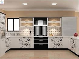 Dream Modular Kitchens: modern Kitchen by NBA CORPORATION