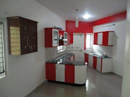 Dream Modular Kitchens: modern Kitchen by NBA CORPORATION