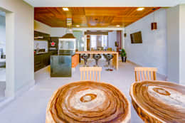 Residência T.C: Cozinhas modernas por Zani.arquitetura