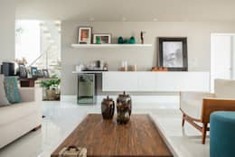 Salon de style de style Minimaliste par Duo Arquitetura