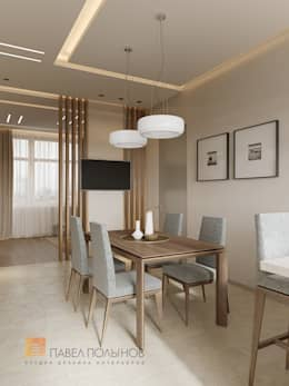 minimalistic Kitchen by Студия Павла Полынова