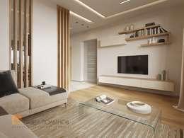 minimalistic Living room by Студия Павла Полынова