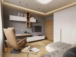minimalistic Study/office by Студия Павла Полынова